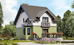 120-003-R Two Story House Plans, the budget Design House,