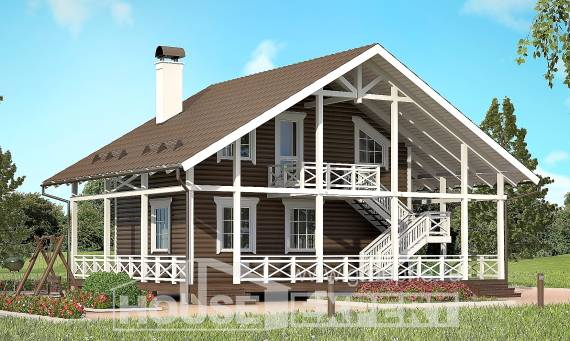 080-001-R Two Story House Plans and mansard, the budget House Blueprints,