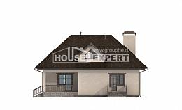 200-001-L Two Story House Plans with mansard roof and garage, luxury Models Plans,