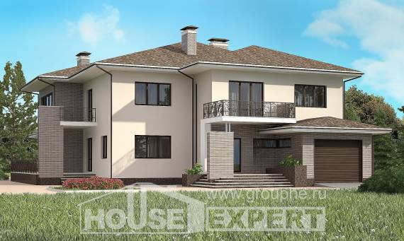 500-001-R Three Story House Plans with garage in front, beautiful Architect Plans,