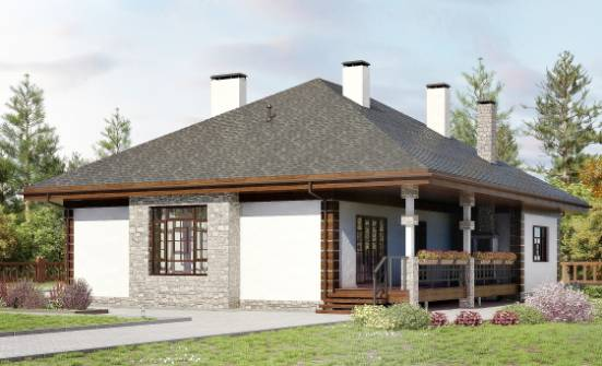 135-003-R One Story House Plans, inexpensive Home Plans,