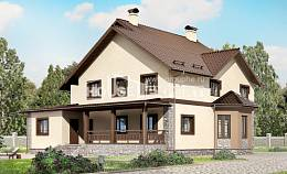 265-003-L Two Story House Plans, big House Plan,
