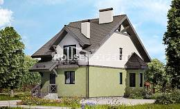 120-003-R Two Story House Plans, modern Architect Plans,