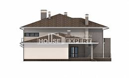 500-001-R Three Story House Plans and garage, modern Tiny House Plans,