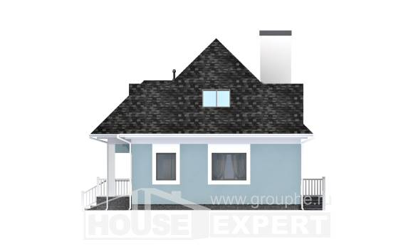 110-001-L Two Story House Plans and mansard, beautiful Timber Frame Houses Plans, House Expert