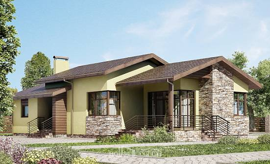 130-007-L One Story House Plans, the budget Architects House,