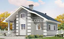 115-001-L Two Story House Plans with mansard roof, available Building Plan,