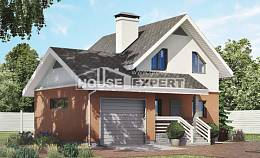 120-002-L Two Story House Plans and mansard with garage in front, best house Custom Home,