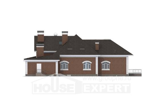 400-003-R Two Story House Plans and mansard, classic Design Blueprints,