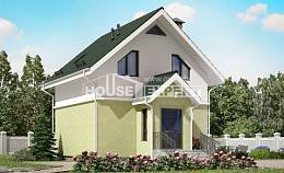 070-001-R Two Story House Plans with mansard roof, classic Online Floor,