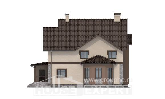 265-003-L Two Story House Plans, best house Villa Plan,