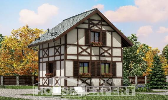 060-002-R Two Story House Plans and mansard, beautiful Home House,