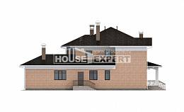 520-001-R Three Story House Plans, big House Plans,