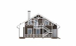 080-001-R Two Story House Plans and mansard, available Timber Frame Houses Plans,