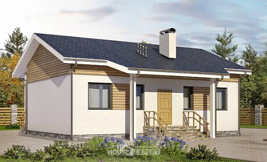 080-004-R One Story House Plans, modern Construction Plans,