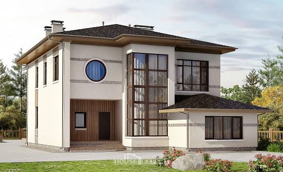 345-001-R Two Story House Plans, luxury Home Plans,