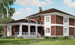 315-001-R Two Story House Plans and garage, a huge Architects House,