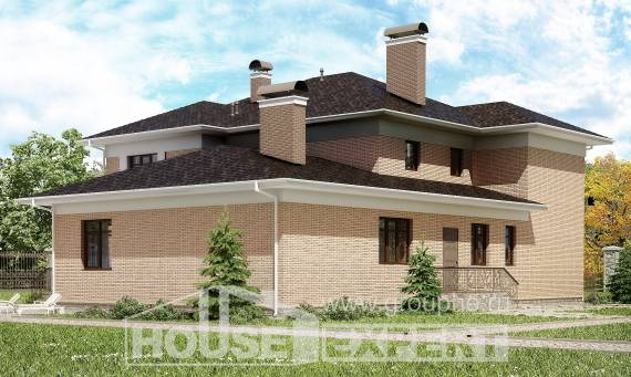 520-001-R Three Story House Plans, big House Planes,