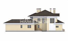 375-002-L Two Story House Plans with garage in back, best house Dream Plan,