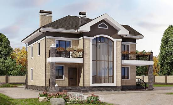 200-006-R Two Story House Plans, a simple Custom Home Plans Online,