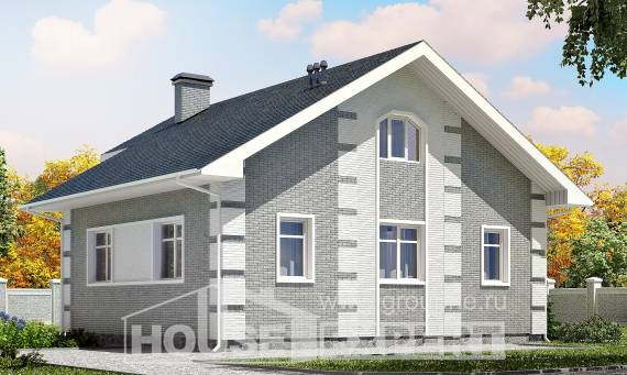 115-001-L Two Story House Plans with mansard, cozy Planning And Design,