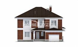 315-001-R Two Story House Plans and garage, a huge Online Floor,