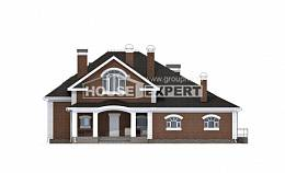 400-003-R Two Story House Plans with mansard roof, a huge Construction Plans,