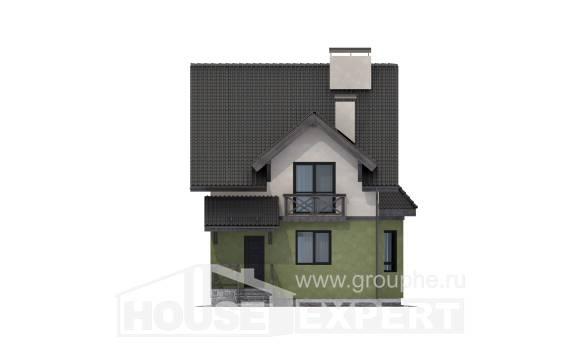 120-003-R Two Story House Plans, classic Home House,