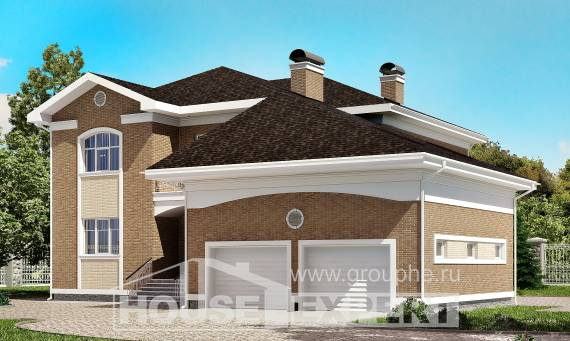335-002-R Two Story House Plans and garage, classic Home Plans,