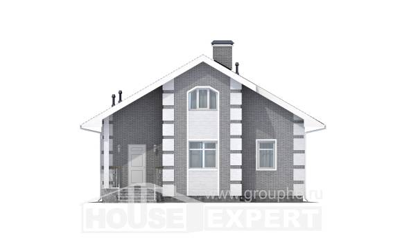 115-001-L Two Story House Plans with mansard, best house Woodhouses Plans,