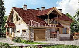 165-002-R Two Story House Plans with garage in front, small House Planes, House Expert