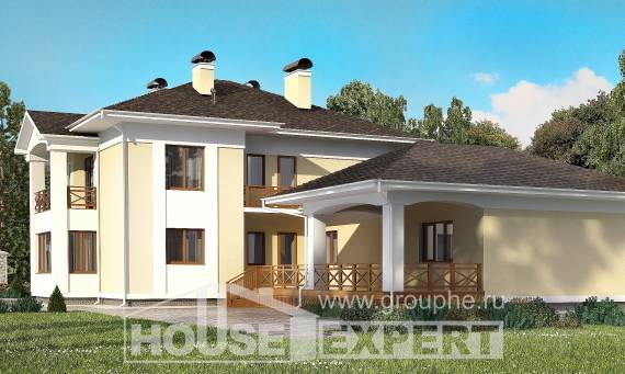 375-002-L Two Story House Plans and garage, beautiful Models Plans,