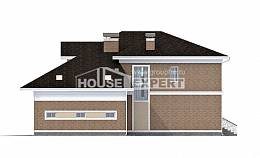 335-002-R Two Story House Plans with garage in front, cozy Architect Plans,