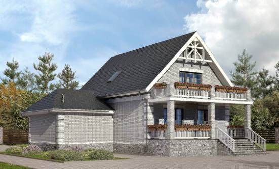 200-009-R Three Story House Plans with mansard with garage, a simple Custom Home Plans Online,