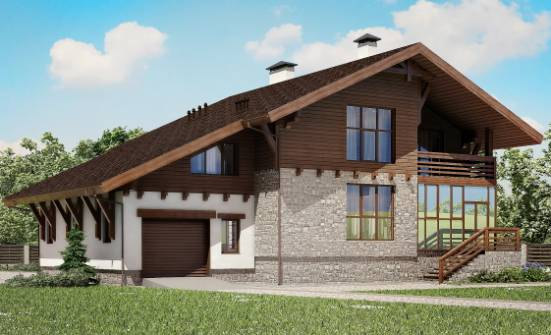 420-001-R Three Story House Plans and mansard and garage, a huge Plan Online,