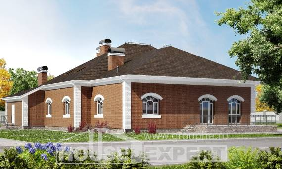 400-003-R Two Story House Plans and mansard, big Construction Plans,