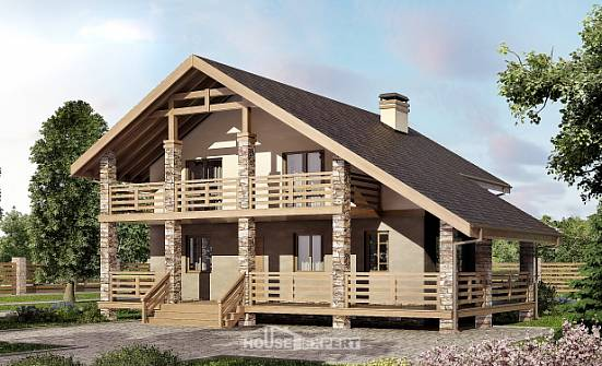 160-010-L Two Story House Plans with mansard roof, best house Building Plan,
