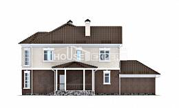 190-002-L Two Story House Plans and garage, spacious Design House,