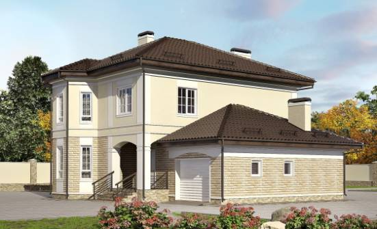 220-007-R Two Story House Plans and garage, best house Architects House,