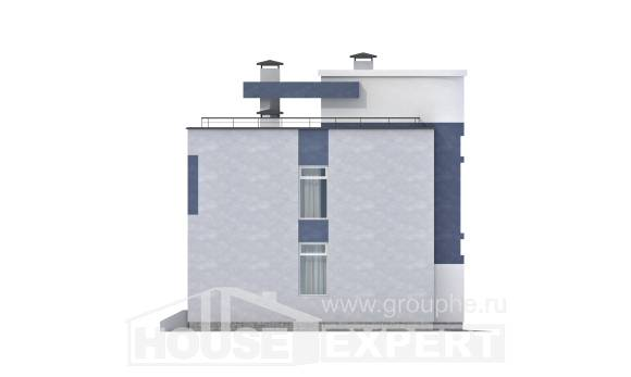 180-005-R Two Story House Plans, modern Architect Plans,