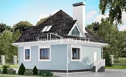 110-001-L Two Story House Plans and mansard, classic Building Plan, House Expert