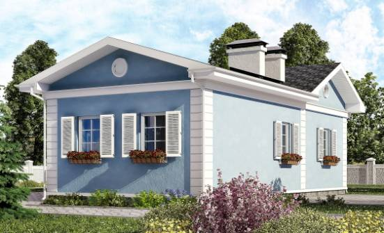 090-004-R One Story House Plans, available Custom Home,