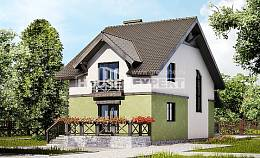 120-003-R Two Story House Plans, cozy House Online,