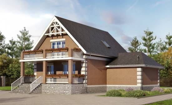 200-009-L Three Story House Plans with mansard roof with garage in front, spacious House Blueprints,