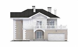 340-002-R Two Story House Plans with garage under, best house Ranch,