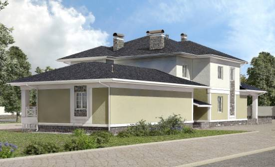 620-001-L Three Story House Plans with garage in back, spacious Online Floor,