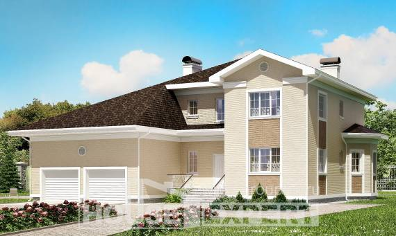 335-001-L Two Story House Plans with garage in back, beautiful Home House,
