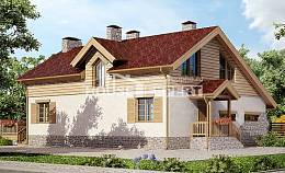 165-002-R Two Story House Plans and garage, modest Design House, House Expert