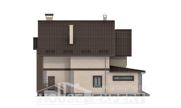 265-003-L Two Story House Plans, classic Dream Plan,
