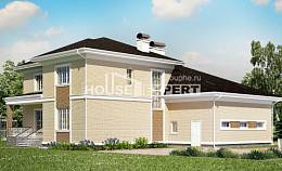 335-001-L Two Story House Plans and garage, spacious House Planes,